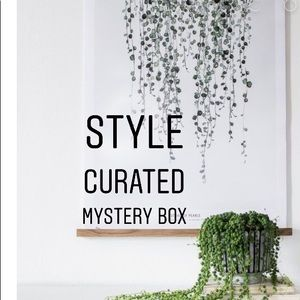 5 piece styled curated mystery box size xs